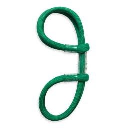 Archery Double Loop Finger Sling Emerald Green 4mm Paracord
