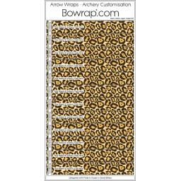 Custom Arrow Wraps Design 0105 - Jaguar