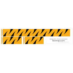 Stabiliser Skins Tiger Stripes Design 0113