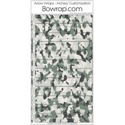 Custom Arrow Wraps Design 0097 - Mountain Camouflage