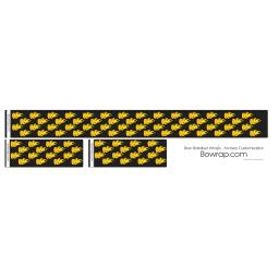 Stabiliser Skins Multiple Yellow Flames Design 0115